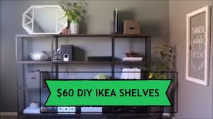 ikea office shelving. Office Shelving DIY Project IKEA HYLLIS Hack Ikea