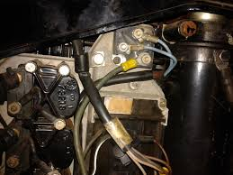need help! mercury 115 inline won't start, no spark was running Wiring Diagram For 115 Mercury Outboard Motor i hooked the black yellow wire to the ones running from the mercury switch and ignition boxes and used a jumper from the gray wire to the rectifier to do Mercury 115 Outboard Engine Harness
