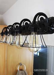 cheap diy lighting. DIY Light Fixtures You Can Make For Cheap Bob Vila Diy Bathroom Designs 16 Lighting