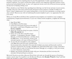 Resume Template Microsoft Office Word Templates Freeownloadownloads ...