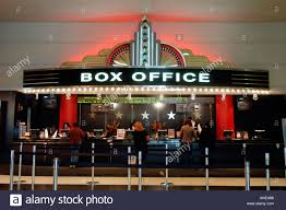 Office The Movie Art Deco Box Office Of The Loew S Lincoln Square Movie Theater Stock