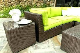 image of wicker patio furniture cushion design