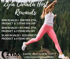 How To Have A Successful Zyia Active Hostess Party Step By