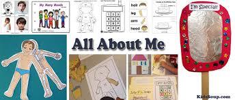 Kindergarten Art Lesson Plans All About Me Activities Crafts And Lessons Plans Kidssoup