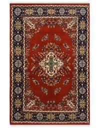 center diamond kashan wool area rug
