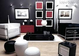 Deco Salon Noir Blanc Rouge Gris Best Maison Et Newsindo Neat De Deco Blanc Et  Gris
