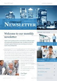 Newletter Formats Free Business Newsletter Templates Image Business