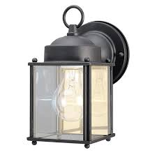 great westinghouse outdoor lights 6697200 one light exterior wall lantern textured black