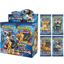 324Pcs Pokemon Cards XY Evolutions Booster Box Sealed Battle Carte Trading  Cards Game Toy|Game Collection Cards