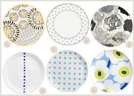 Patterned Dinnerware Inspiration Patterned Plates KitchenDinning Pinterest