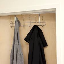 6 Hook Wall Mounted Coat Rack Mind Reader Over the Door 100 Hook Wall Mounted Coat Rack Reviews 27