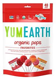 YumEarth Organic Lollipops, Assorted Flavors, 8.7 ... - Amazon.com
