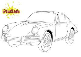 Ausmalbild Porsche 911 Kostenlose Malvorlagen