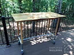 Diy patio table Pinterest Diy Patio Table Simplified Building 51 Diy Table Ideas Built With Pipe Simplified Building