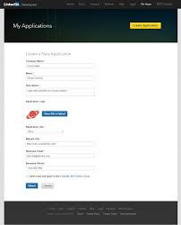 how to create a linkedin app for social connect cozmoslabs profile builder pro social connect linkedin apps create a new application