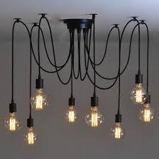 custom made 8 bulb retro type chandelier light pendant