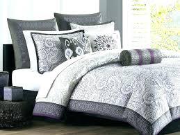 purple and gray bedding sets grey comforters queen echo design full comforter set within lavender purple and gray bedding