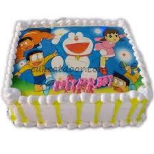Doraemon Team Cartoon Photo Cake C074 Cakeatdoorcom