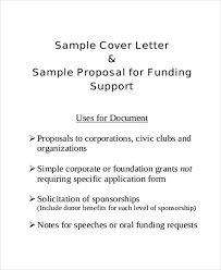 Project Proposal Cover Letters 9 Sample Project Proposal Letter Examples In Word Pdf