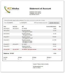 Account Receivable Statement Template If Statement Template Best Template Collection