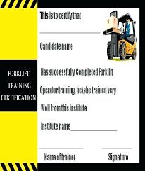 Forklift Online Certification Free Kiwanisofthevalleys Org