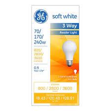 3 Way Incandescent Light Bulbs Ge Lighting 3 Way Incandescent Light Bulb 6 Pk In 2019