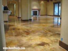 photo 5 of 7 a complete guide for how to choose the painted concrete floor type for your home or
