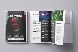 Design Product News Magazine Helvetica Magazine Indesign Template Ad Sponsored Cc