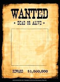 Poster Template Download Wanted Poster Template Psd Homeish Co