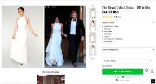 Fashion Nova Selling Meghan Markle Look A Like Dress