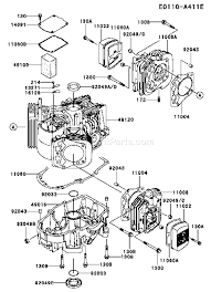kawasaki engine parts diagram kawasaki wiring diagrams online