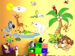 safari wall decals safari wall decor beautiful best kids wall decals images on child room kids