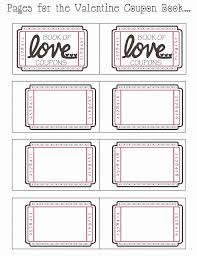 Free Printable Coupon Book Template Frank And Walters