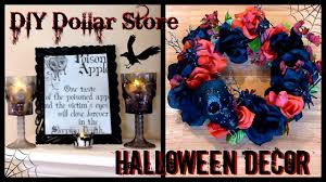 DIY Halloween Decor  Dollar Store Goth Decor  Skull & Rose Wreath -  YouTube