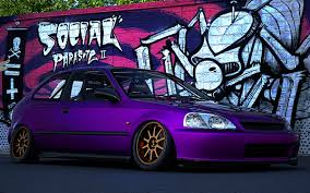honda jdm. honda civic jdm style 6gen of course a healthy shack with no rust 16inch wheels and all on air ride camber 10 if you like the work for jdm