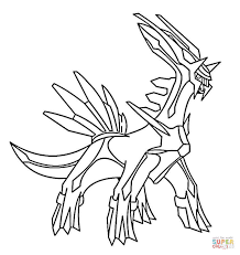 Legendary Pokemon Coloring Pages Free Coloring Pages
