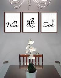 dining room wall art pictures