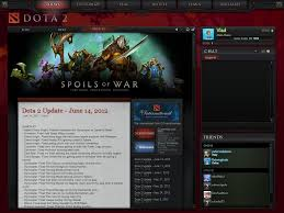 new dota 2 ui by misaki2009 on deviantart