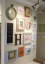 I love the different picture frames and their arrangements! | For the Home  | Pinterest | Wall pictures, Gallery wall and Walls