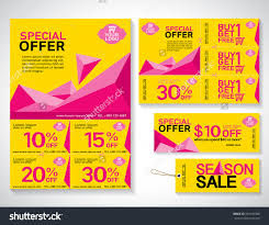 flyer promotions coupon banner design stock vector 334199300 flyer promotions coupon or banner design best discount offers special price