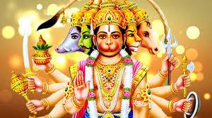 Panchmukhi God Hanuman