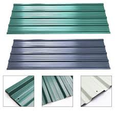 galvanised corrugated roofing sheets 12pc steel carport roof sheet project panel