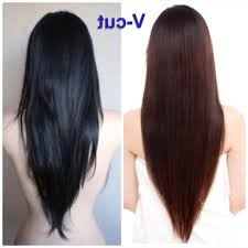 V Hairstyle Layered V Cut Hairstyle Long Layered V Cut Hairstyles Black Hair 7973 by wearticles.com