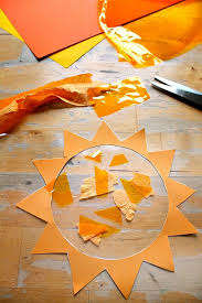 Sun Template Printable Sunshine Sun Catcher Easy Solstice Craft With Sun Template