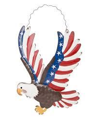 patriotic eagle wall décor