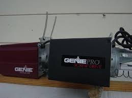 genie genie pro garage door opener epic
