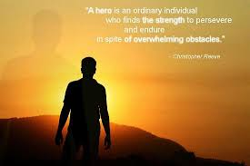 Hero Quotes New Being Hero Quote Picture