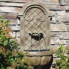 best outdoor wall water fountains and water features garden wall pertaining to garden wall fountains water features