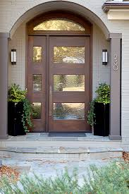 Modern Front Door // Home Interiors // Interior Design by Barbour ...