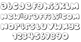Bubble Letter Designs 13 Bubble Letter Font Images Bubble Letters Alphabet Font